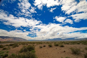 Ruta 40 Salta Argentina clouds