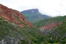 Cuesta del Obispo riverbed valley