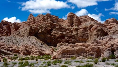 Ruta 40 Salta Argentina rippling rock