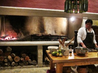 House of Jasmines Salta kitchen