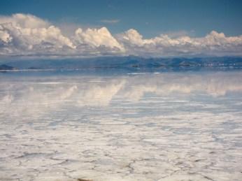 Salinas Grande Argentina mirror image