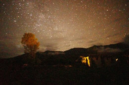 Estancia Colomé stars at night