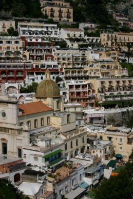 View from room Albergo Miramare Positano