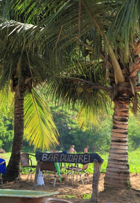 Praia Conceição Fernando de Noronha bar sign