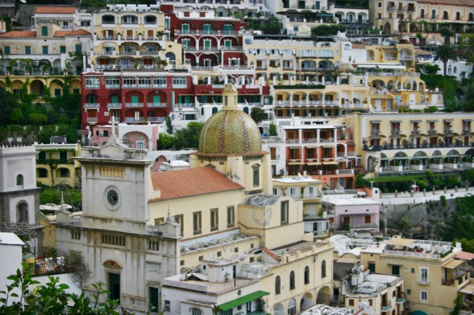You feeling like you are swimming in the middle of Positano.
