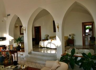 Palazzo Avino Ravello suite bedroom