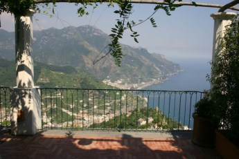 Ravello terrace view