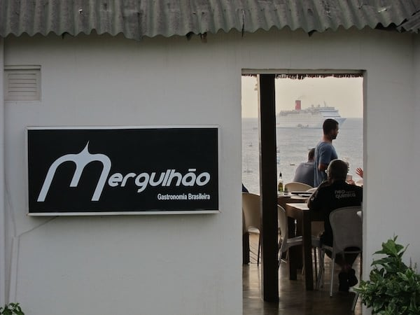 Restaurant Mergulhão entrance
