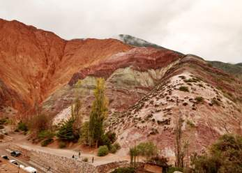 Hill of Seven Colors Purmamarca Argentina