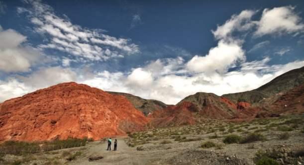 Paseo del Colorado Purmamarca Argentina hike