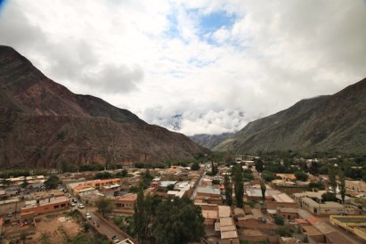 Purmamarca Jujuy Argentina town view