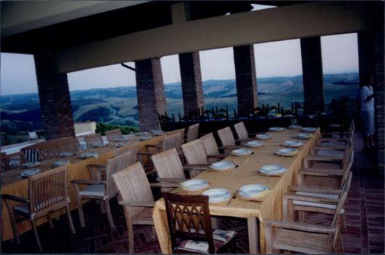 Villa Cerretello terrace party