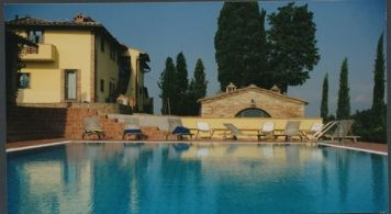 Villa Cerretello pool