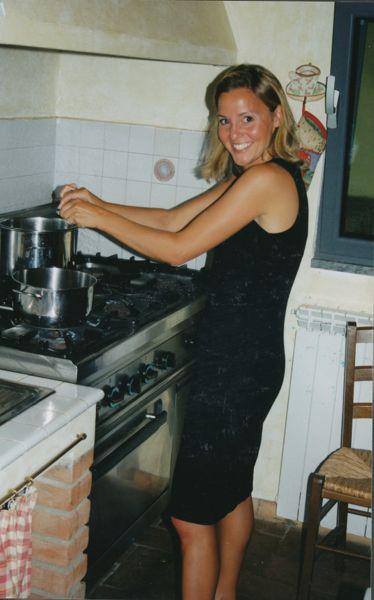 Villa Cerretello cooking