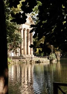 Villa Borghese temple