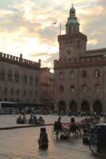 Bologna main piazza