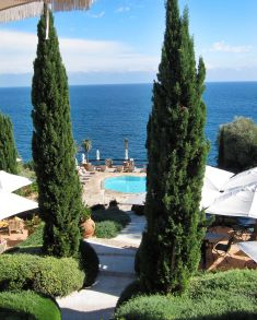 Il Pellicano pool view