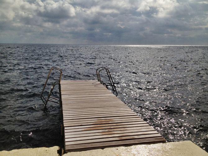 Il Pellicano beach pier
