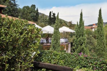 Il Pellicano dining terrace