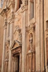 Pitigliano church facade