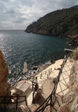 Il Pellicano beach view