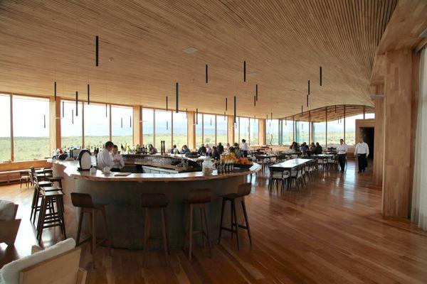 Tierra Patagonia dining room