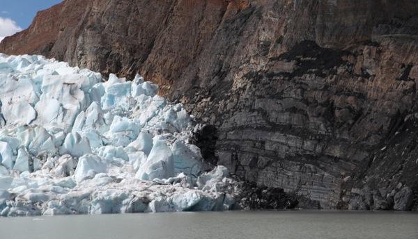 Grey's Glacier Grinding