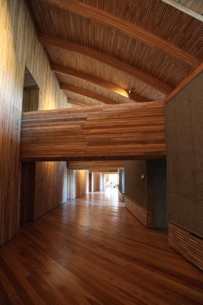 Tierra Patagonia room hallway