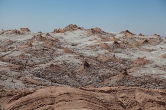 Atacama Desert Valley of the Moon salt deposit