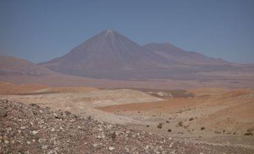 Atacama Desert Devil's Gorge volcano