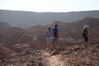 Atacama Desert Devil's Gorge trekking