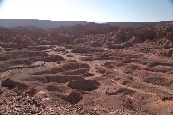 Atacama Desert Devil's Gorge empty trail