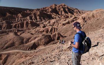 Atacama Desert Devil's Gorge canyon view