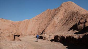 Atacama Desert Devil's Gorge trekker