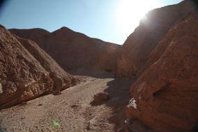 Atacama Desert Devil's Gorge sunset