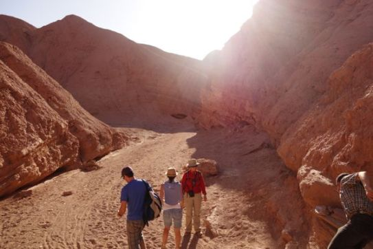 Atacama Desert Devil's Gorge canyon