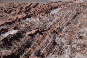 Atacama Desert Valley of the Moon ridge
