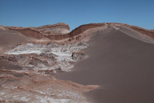 Atacama Val de Luna canyon