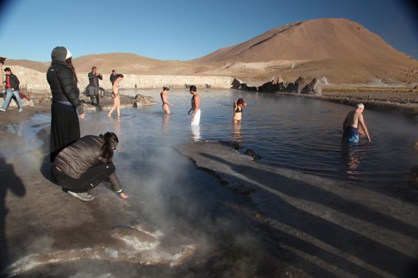 Tatio Geysers pools