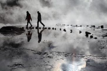Tatio Geysers cloud walk
