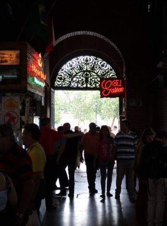 Santiago El Mercado Centrale entrance