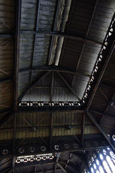 Santiago El Mercado Centrale roof lines