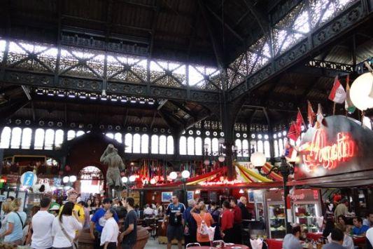 Santiago El Mercado Centrale stalls