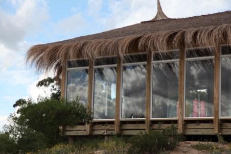 The very zen yoga studio, overlooking the Rio de la Plata