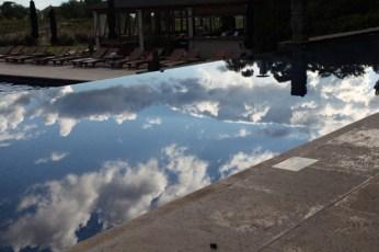 Four Seasons Carmelo pool clouds