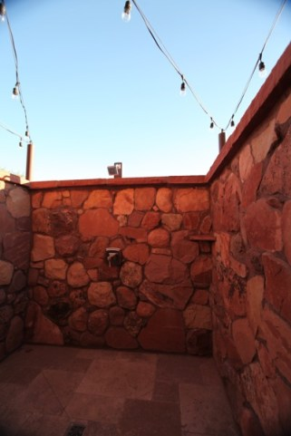Gateway Canyons Resort outdoor shower