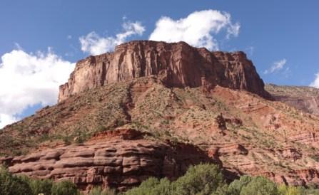 Gateway Canyons Resort hike trail