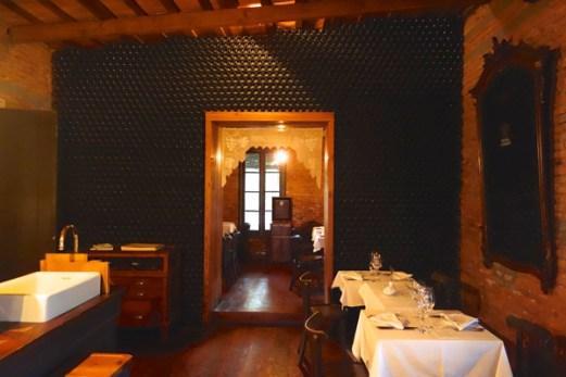 Narbona Wine Lodge restaurant door