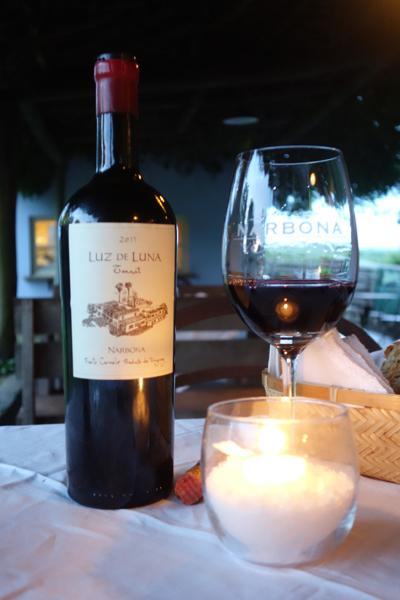 Narbona Wine Lodge wine