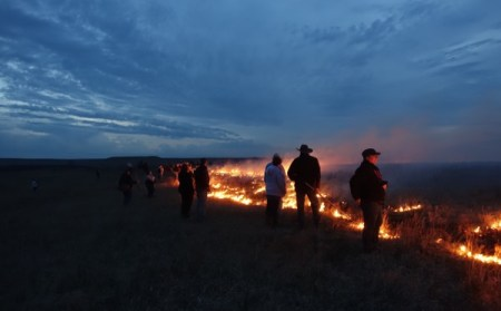 Centuries before Burning Man, there were men, burning. Fields of grass, not weed.